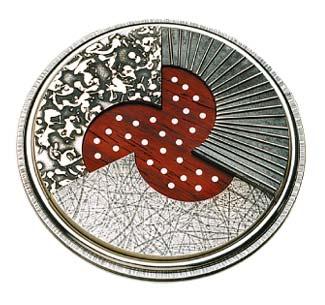 Médaille des prix culturels et scientifiques de 2001 créée par Christine Larochelle