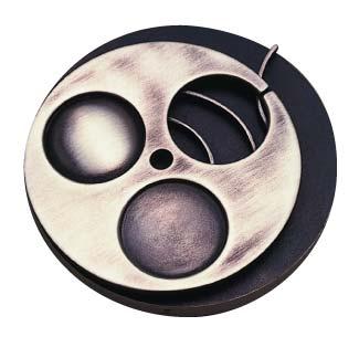 Médaille du prix Albert-Tessier 1988 créée par Hélène Sénécal