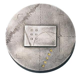 Médaille du prix Albert-Tessier 1989 créée par Jean-Pierre Gauvreau