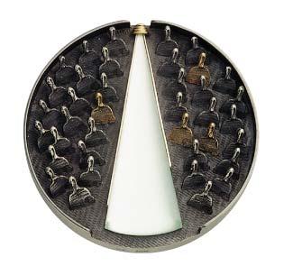 Médaille du prix Albert-Tessier 1993 créée par Alain Morel