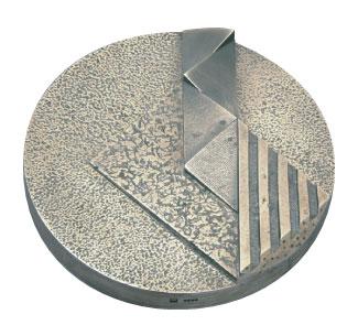 Médaille du prix Athanase-David 1987 créée par Michel-Alain Forgues