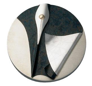 Médaille du prix Athanase-David 1993 créée par Lynn Légaré