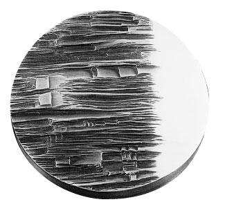 Médaille du prix Denise-Pelletier 1981 créée par Ghislaine Fauteux-Langlois