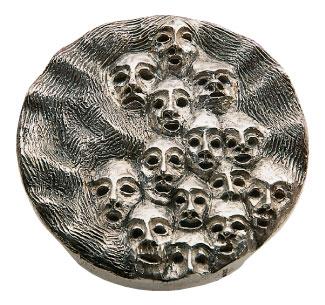 Médaille du prix Denise-Pelletier 1982 créée par Rusdi Genest