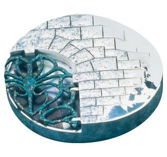 Médaille du prix Gérard-Morisset 1994 créée par Michel Burns