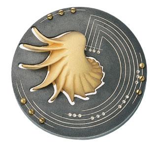 Médaille du prix Léon-Gérin 1993 créée par Bruno Gérard