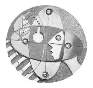Médaille du prix Marie-Victorin 1977 créée par Guy Vidal