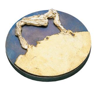 Médaille du prix Marie-Victorin 1990 créée par Jean-Pierre Gauvreau