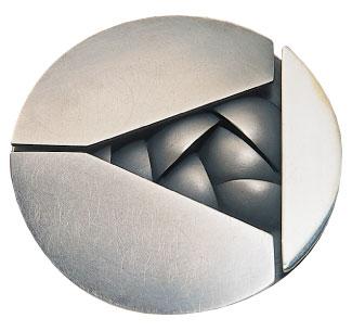 Médaille du prix Paul-Émile-Borduas 1982 créée par Jean-Jacques Hofstetter