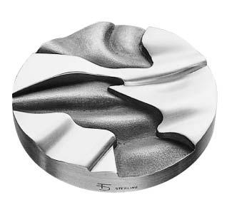 Médaille du prix Paul-Émile-Borduas 1983 créée par Danielle Thibeault
